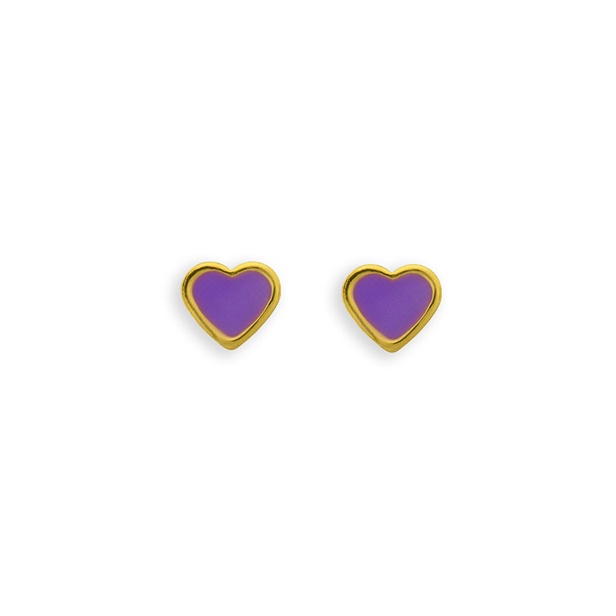 Heart Purple