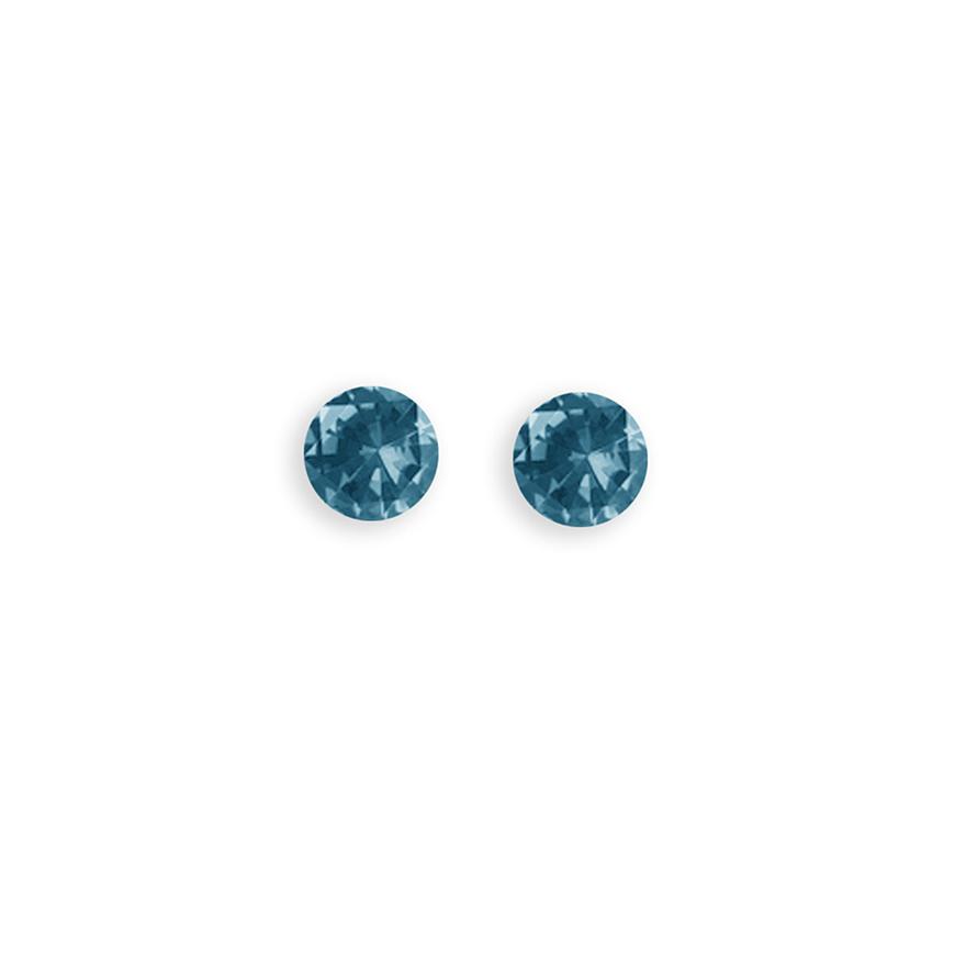 Light Sapphire Glitterball 4.5mm