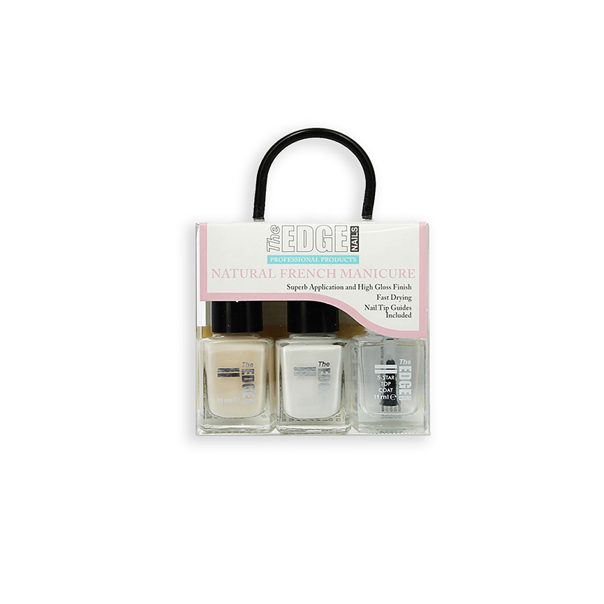 Natural French Manicure Set