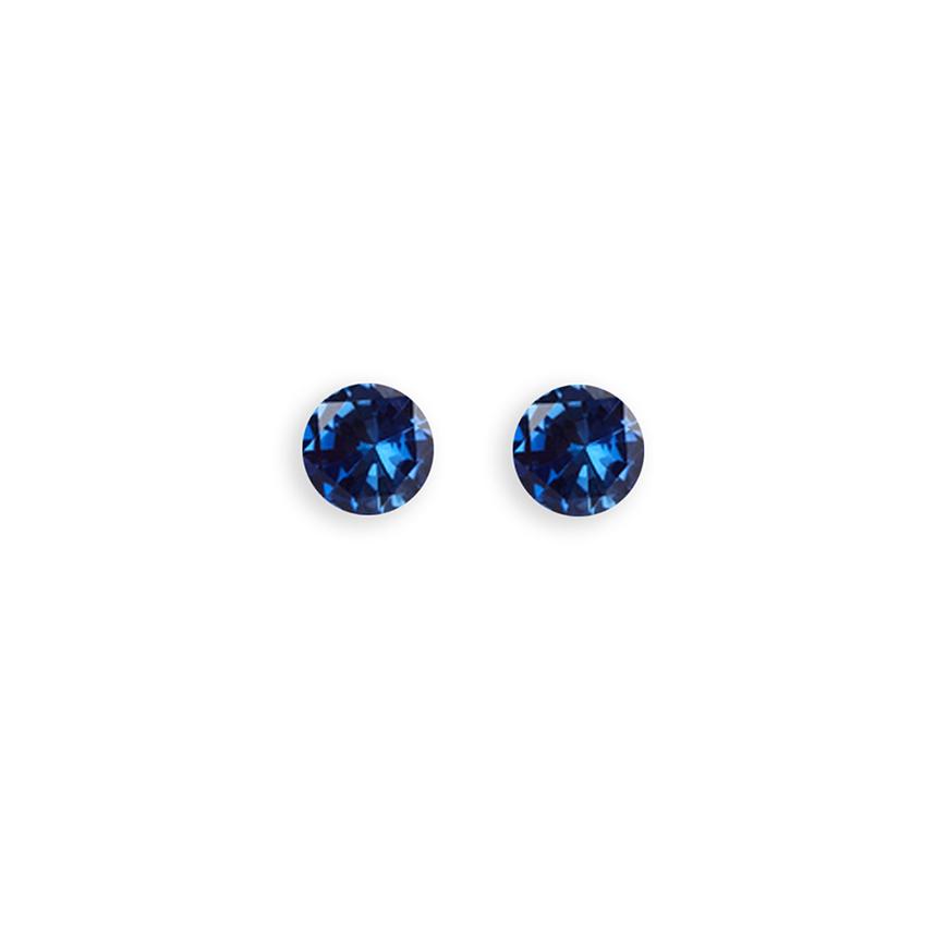 Sapphire Glitterball 4.5mm