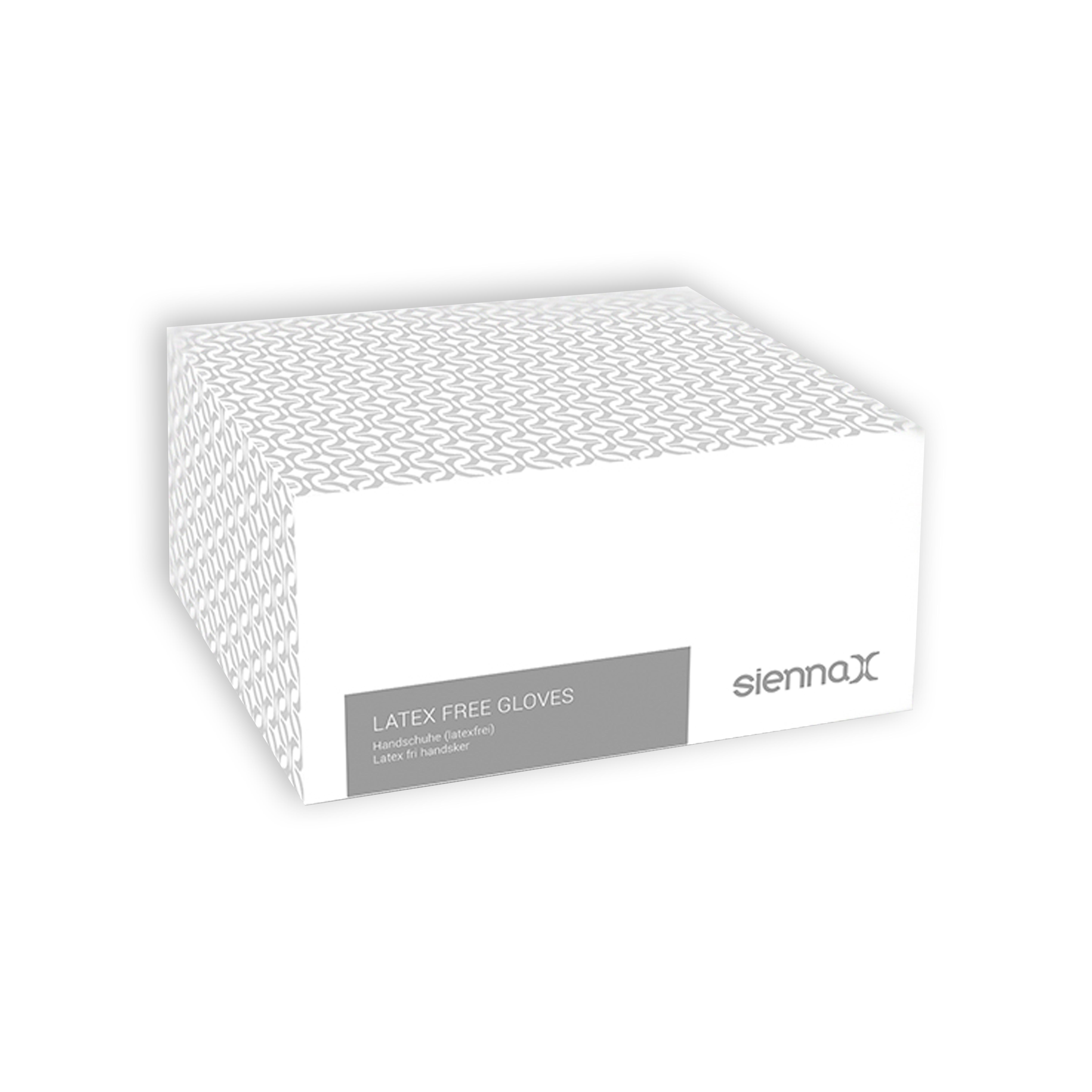 sienna x latex free gloves x50