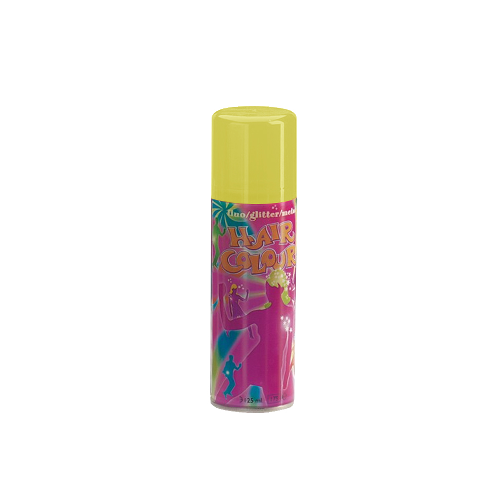 Sinelco_ColouredHairspray_Yellow